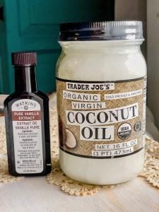 Vanilla and Coconut Oil   Erica Robbin