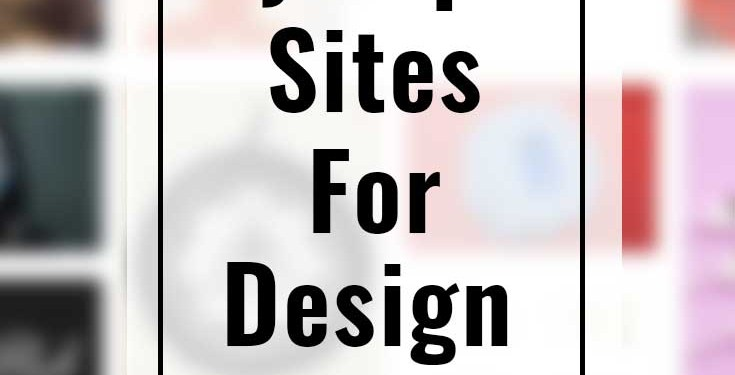 My Top 5 Sites for Design Inspiration