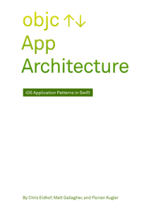 Books erica sadun objc app architecture by eidhof gallagher and kugler fandeluxe Gallery