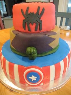 Super Hero Cake