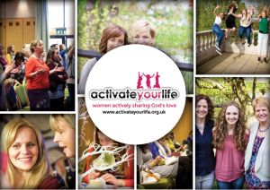 brochure cover design for Activate Your LIfe