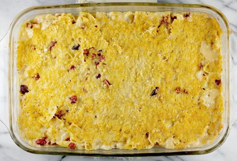 Cranberry Chorizo Macaroni and Cheese