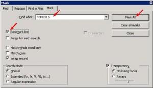 Notepad++ - Log Files filtern (1/3)