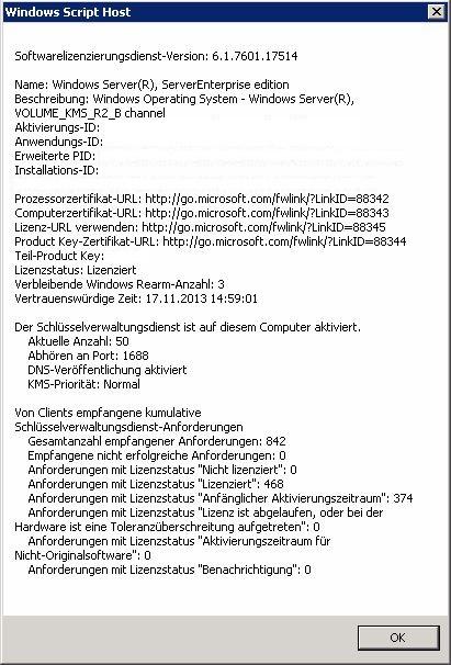 Blogserie: VAMT - Volume Activation Management Tool 3.1 (Teil 3/3) - Verwaltung (1/6)
