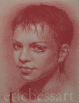 Red and White Chalk 14x17 2013