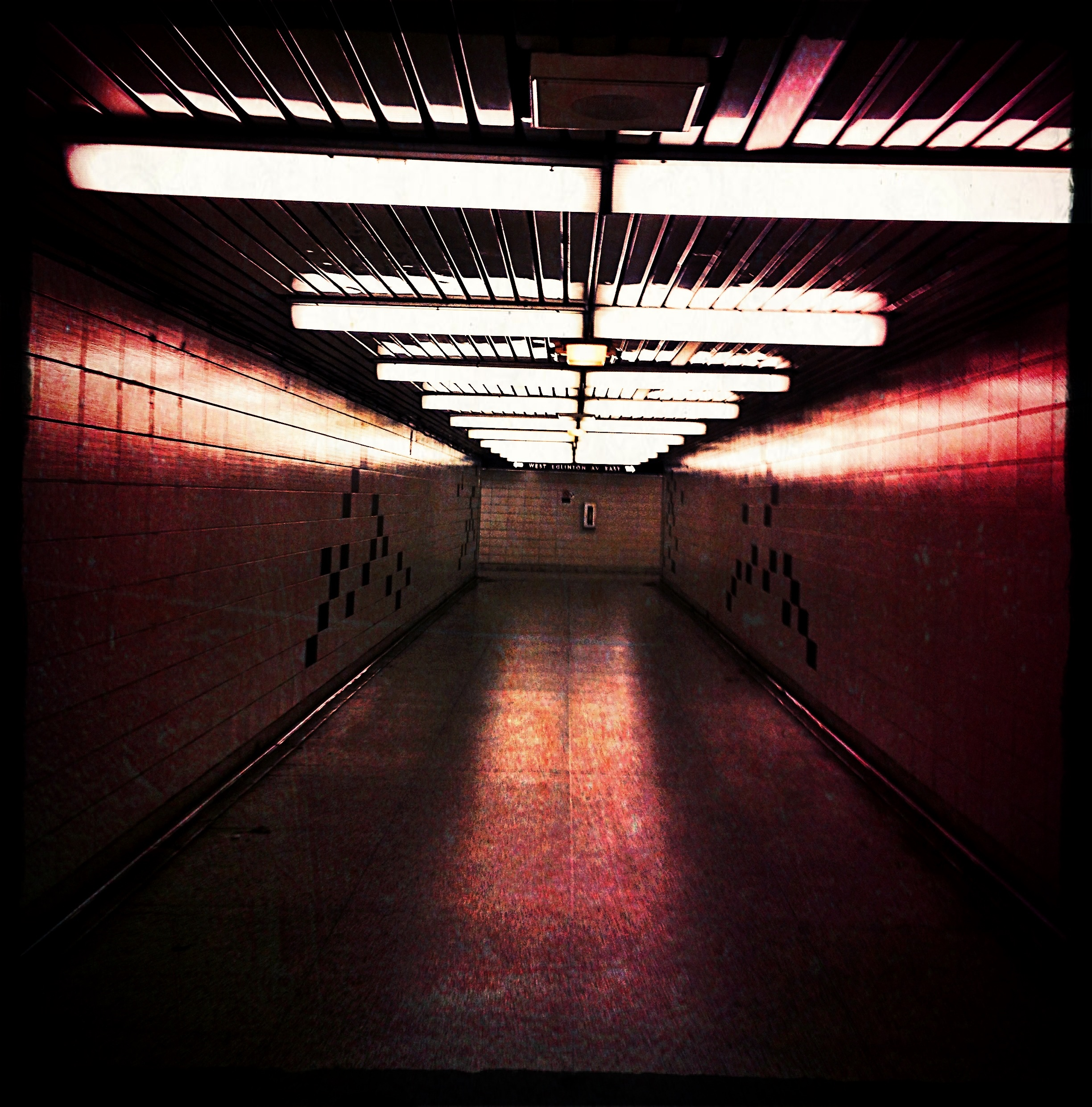 """Open-Up and Say Ahhhhh"" - Yonge-Eglinton pedestrian underpass, Toronto"