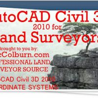 AutoCAD Civil 3D for Land Surveyors Coordinate Systems Refresher Video