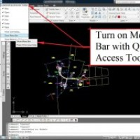 AutoCAD Civil 3D Surveying Quick Tips and Tricks: Menu Bar