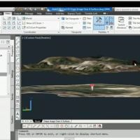 AutoCAD Civil 3D Drape Images Over A Surface Video
