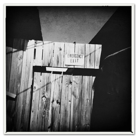 Fine Art Photography-Emergency Exit