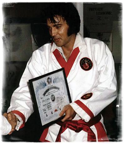 Elvis Loved Karate