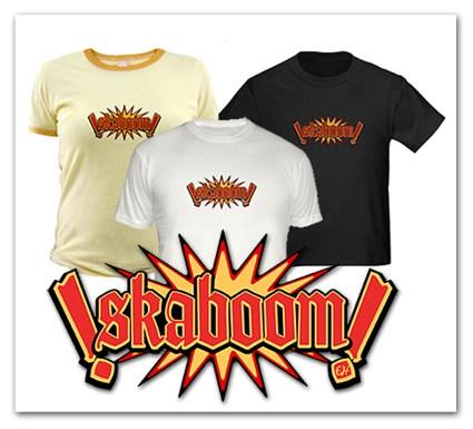 Skaboom T-Shirt by Eric Hatheway