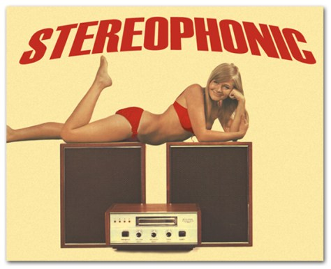 Stereophonic Poster