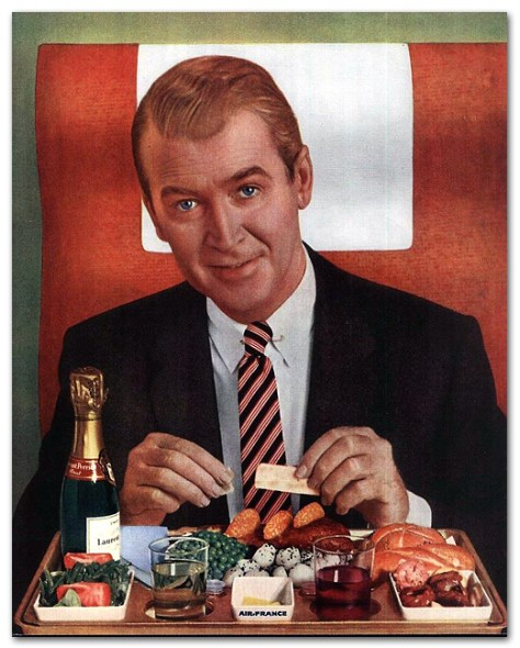 Jimmy Stewart's In-Flight Meal