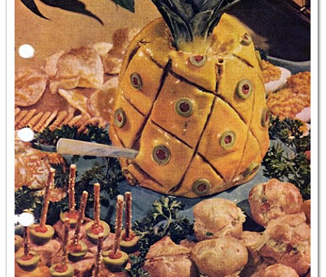 Awful Food: Liver Sausage Pineapple