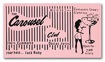 Jack Ruby Business Card