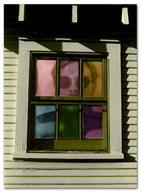 stainedglassselfportrait