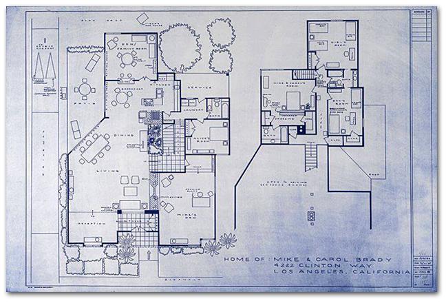 Brady House Blueprints