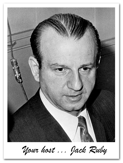 Your Host Jack Ruby Card