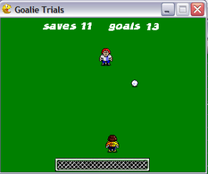 goalie trials screenshot