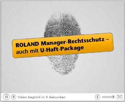 Roland Manager-Rechtsschutz mit U-Haft-Package