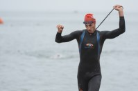 Erich Wegscheider at the 2013 Santa Cruz Triathlon.