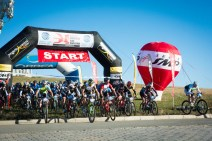Start of the 2013 Mongolia Bike Challenge.