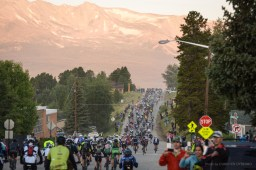 Start of the 2014 Leadville Trail 100 MTB