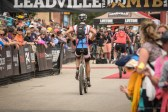Erich Wegscheider Finishing the 2014 Leadville Trail 100 MTB