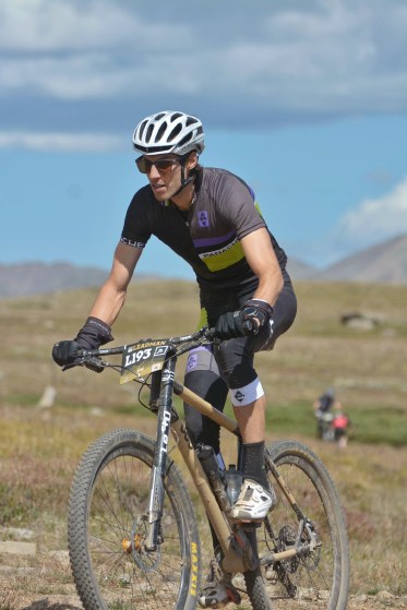 Erich Wegscheider at the 2016 Leadville Trail 100 MTB