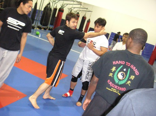 Fight Coordinating with Cung Le