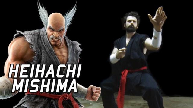 Heihachi Mishima Irl Tekken Eric Jacobus