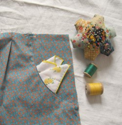 dress pocket finished