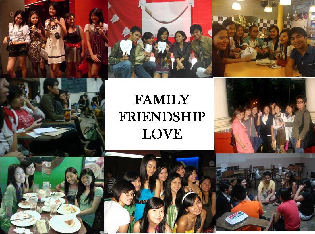 family frienship love