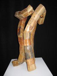 (VENDU)Les 3 G-assemblage de pieds de palettes de livraison - 90x45cm