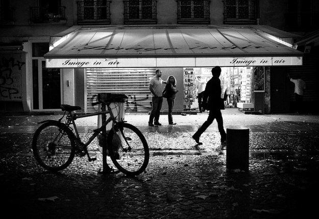 Image in' Air. Paris, 2009