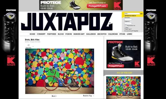 """Dots"" Feature on Juxtapoz Magazine"