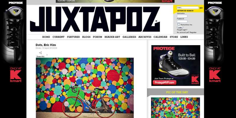 """Dots"" Feature on Juxtapoz Magazine"