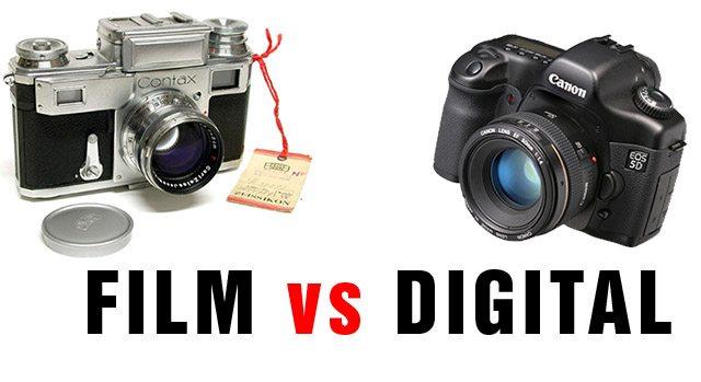 Film vs Digital Street Photography