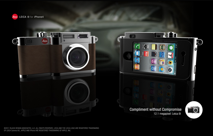 The i90 - Leica M9 and iPhone 4 Hybrid