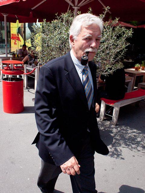 Zurich man with pipe