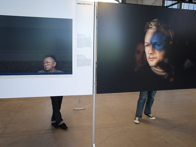 """""""Opposed"""" - Shot with my Ricoh GRIII at the World Press Exhibition in Zurich, Switzerland"""
