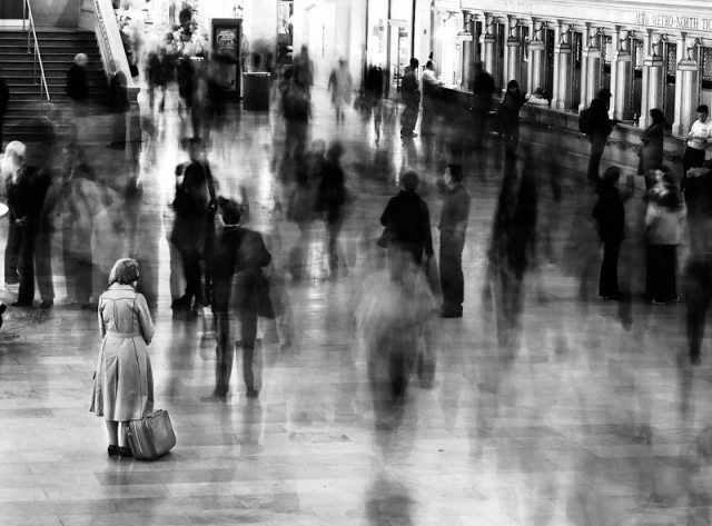 """""""Waiting in Grand Central"""" - James Maher"""