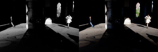 """Under the Manhattan Municipal Building"" - James Maher"