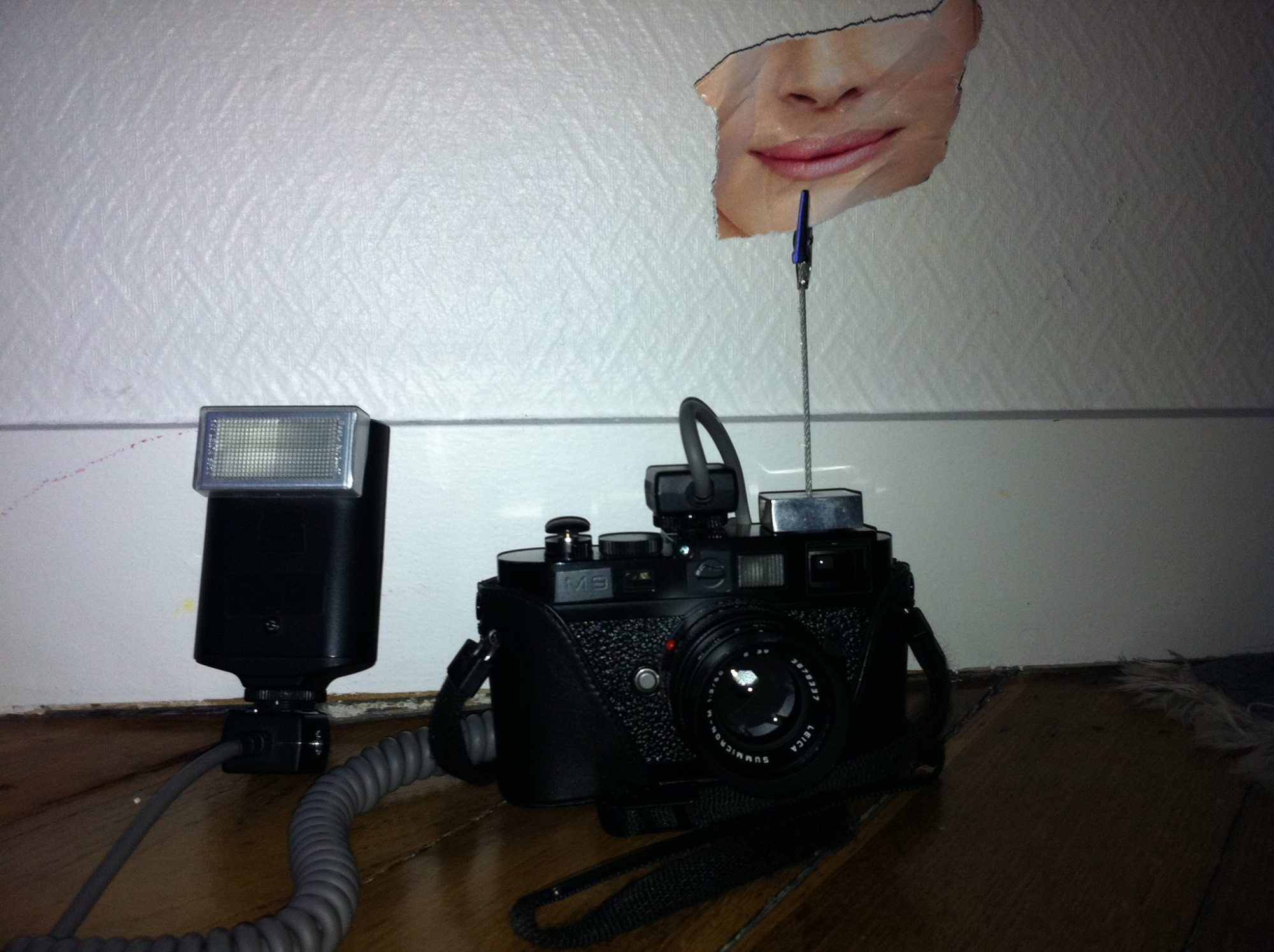 Smile, You're on Leica Camera