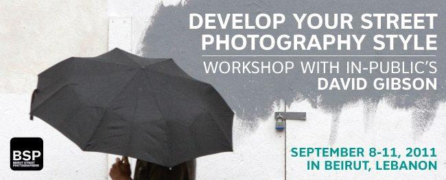In-Public's DAVID GIBSON Workshop in Beirut, Lebanon September 2011