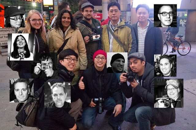 Toronto Street Photography Workshop Group Photo