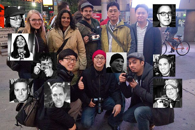 Toronto Street Photography Workshop Group Photo