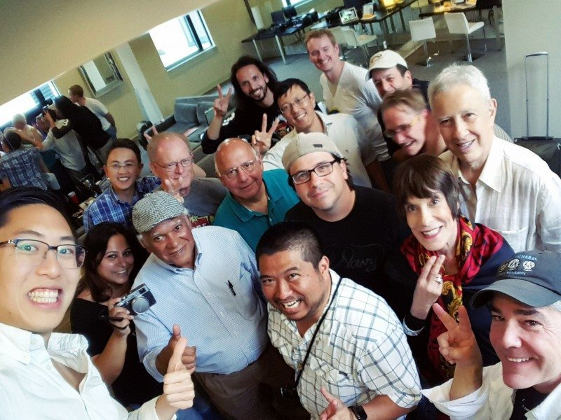 New Orleans Travel Street Photography Workshop group selfie, 2015