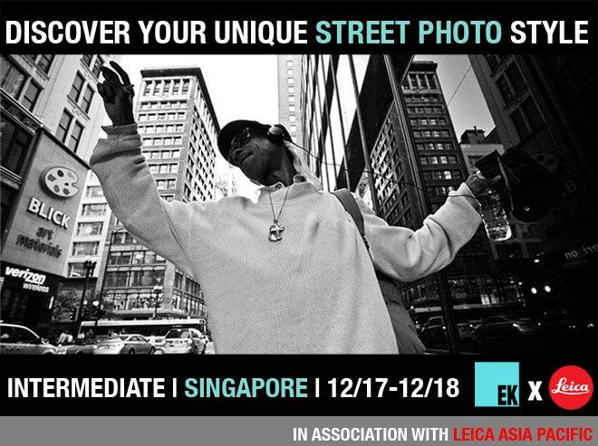 Street Photography Workshop Singapore